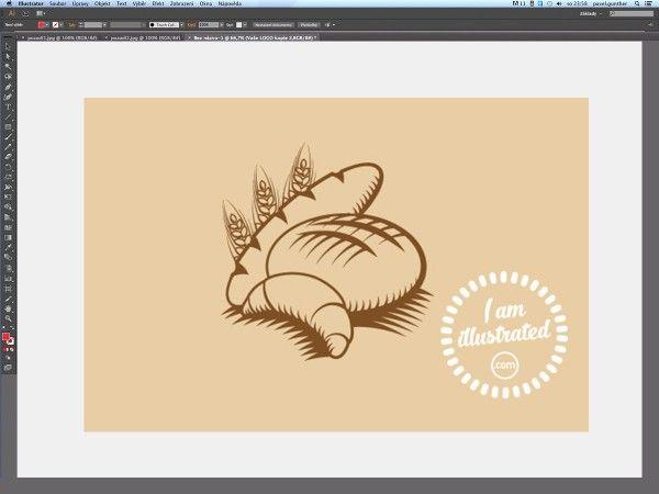 V tomto článku si předvedeme, jak vytvořit grafiku v jednoduchém stylu, která se dá použít třeba pro logo rodinné pekárny.