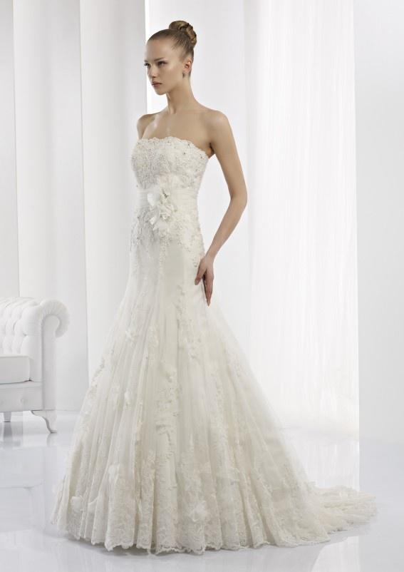 Collezione abiti da sposa #Jolies, abito da #sposa modello JOAB13284IV