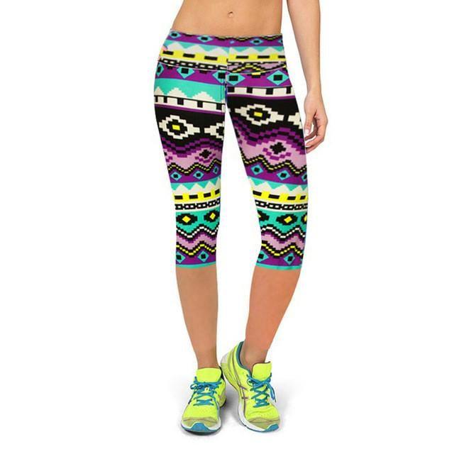 UMLIFE Hot Sell Yoga Pants Women Plus Size High Waist Sports Leggings Fitness Jersey 3D Print Slim Yoga Pants Tights Sportswear