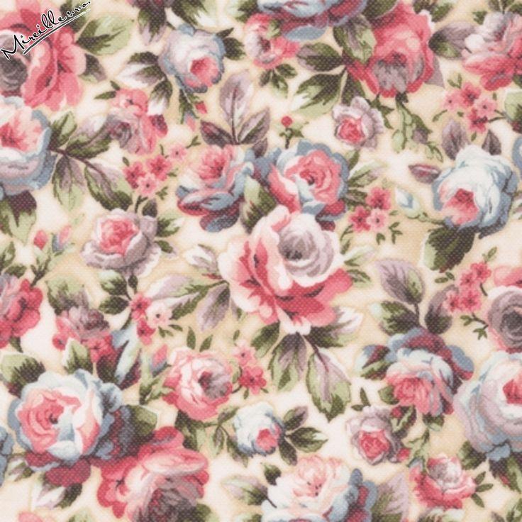 Látka Damask Rose crema