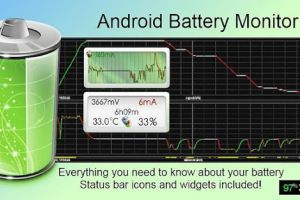 Battery Monitor Widget Pro v2.8 apk android app free Download