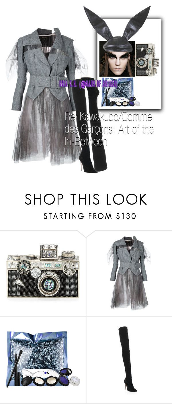 """""""Rei Kawakubo/Comme des Garçons: Art of the In-Between"""" by briarhoney ❤ liked on Polyvore featuring Judith Leiber, Pat McGrath and Oscar Tiye"""