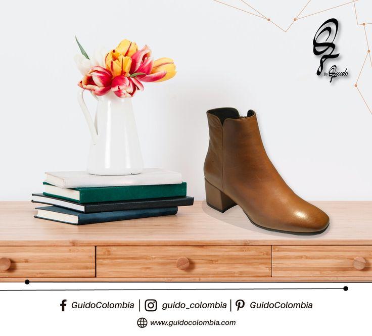 La buena calidad de nuestro calzado se refleja no solo en los materiales que utilizamos para su fabricación, sino en la comodidad que sientes al usarlos ¡Visítanos en nuestro febrero de descuentos!   C.C El Retiro Local 1-107 // C.C Hacienda Santa Bárbara Local B-123   #Guido #GuidoColombia #Moda #Marroquineria #MarroquineriaColombia #Italia #CueroItaliano #Botas #Botines #Bolsos #Carteras#CalidadItaliana