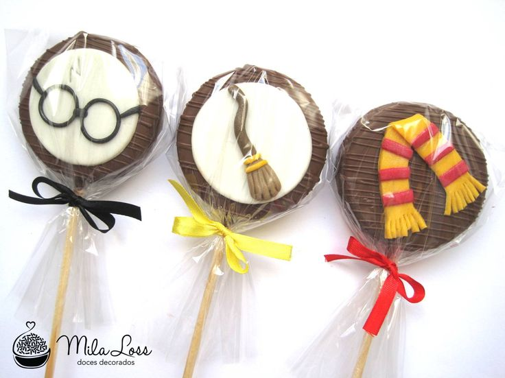Mila Loss - Doces Decorados: Harry Potter