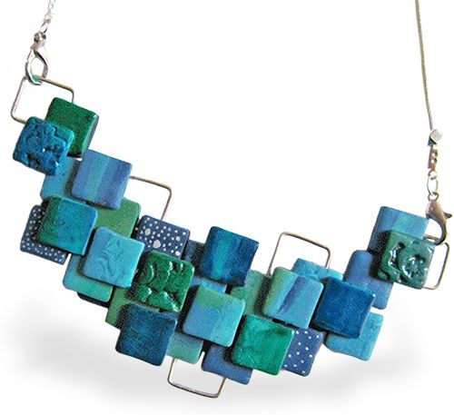 Polymer squares | Polymer Clay Daily