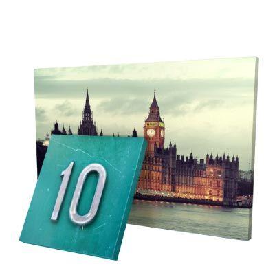 Impression photo sur toile pas cher et tirage photo sur toile au meilleur prix; le cadre photo est disponible déjà monté.