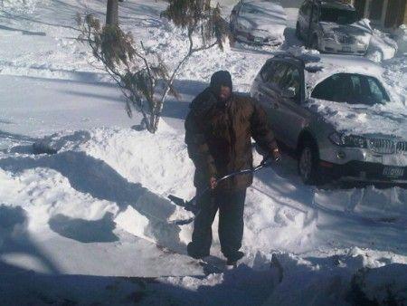 50 Cents snowy Twitpics