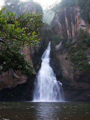 Chad Tra Kran Waterfall. _Waterfall, PHITSANULOK: