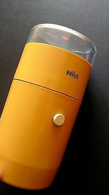 Braun ksm 1 #aromatic coffee grinder reinhold #weiss 1960s modernist rams #yellow,  View more on the LINK: 	http://www.zeppy.io/product/gb/2/152243894421/