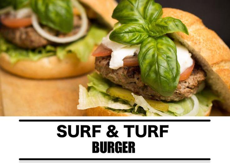 Barbecue recept: surf & turf burger