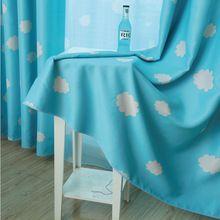 Xuan Ge kinderen afgewerkte gordijnen jongens en meisjes custom schaduw slaapkamer verdikking wolken(China (Mainland))