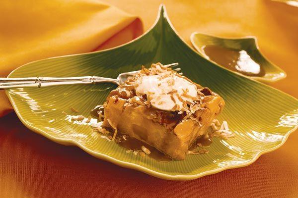 Banana-Mango Bread Pudding | Food | Pinterest
