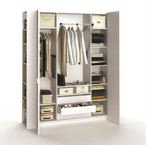 sublime armoire dressing 4 portes organisez votre. Black Bedroom Furniture Sets. Home Design Ideas