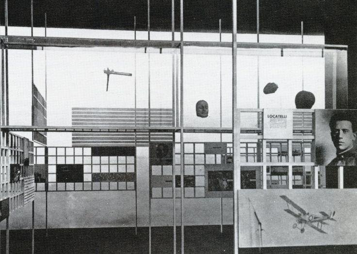 edoardo persico | Tumblr Edoardo Persico & Marcello Nizzoli, Salle delle Medaglie d'Oro (Gold Medals Room), Mostra dell'Aeronautica (Aeronautics Exhibition), Milan, 1934