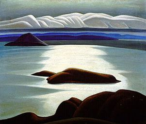 Lawren Harris, Morning, Lake Superior, circa 1921
