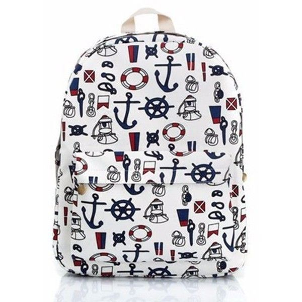 Women Canvas Backpac Retro Cartoon Backpack Multi-Color Bag ❤ liked on Polyvore featuring bags, backpacks, canvas daypack, backpack bags, colorful backpacks, comic book and retro backpacks