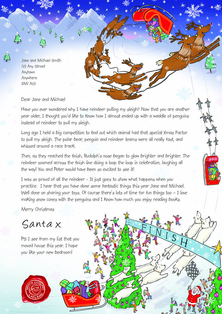 NSPCC Letter from Santa (2013)