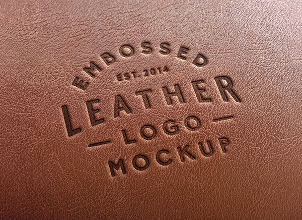 Create a realistic printed leather effect for your logo with Leather ‪Logo‬ ‪‎PSD‬ ‪MockUp‬. Feel ‪‎FREE‬ to download now & use them in your next design project.