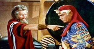 """Moses' Wrath Against Pharaoh. - Exodus 11:8, """"And all these thy servants shall come down unto me, and bow down themselves unto me, saying, Get thee out, and all the people that follow thee: and after that I will go out. And he went out from Pharaoh in a great anger."""""""