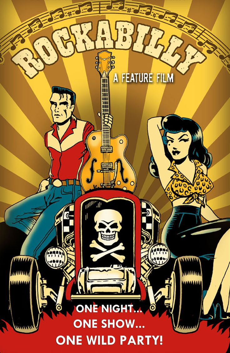 Here is a VERY cool movie brought to you by the producers of the Viva Las Vegas Rockabilly Weekend! If you have an extra dollar or two...please help get this thing into production. http://www.kickstarter.com/projects/aarefrodriguez/rockabilly-a-cinematic-music-driven-comedy