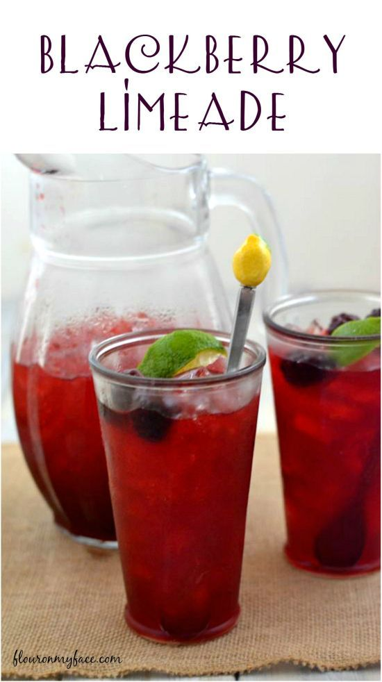 Need a perfect Memorial Day drink recipe for that bbq or need a refreshing summer drink recipe this Blackberry Limeade will hit the spot.   http://flouronmyface.com/2015/03/blackberry-limeade.html