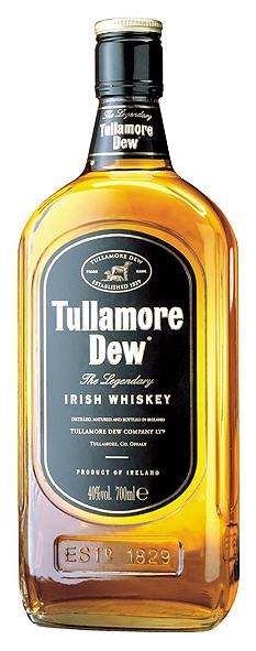 Tullamore Dew Irish Whiskey - Tullamore, Co. Offaly, Ireland.  OMG I'm going to get to see where and how this whiskey is made and taste some!!!!