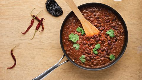 Torch fat with this metabolism-boosting, healthy chilli con carne recipe from chef Adam Gray