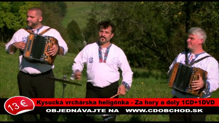 Kysucká vrchárska heligonka - Na petranskom vŕšku / z albumu  Za hory a ...