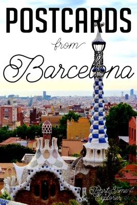 Welcome to my new Postcards series. First up: Postcards from Barcelona. From the La Boqueria, to Gaudi, to the top of Tibidabo, and many places in between.