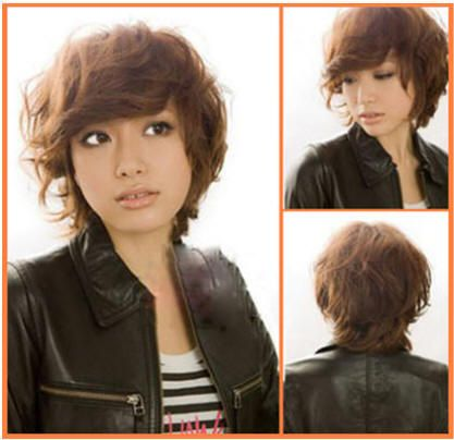 longer--cute!Short Hair Cuts, Messy Bobs, Short Hair Dos, Hair Shorts, Short Curly Hair, Brown Shorts, Shorts Wavy Hairstyles, Asian Hairstyles, Shorts Hairstyles