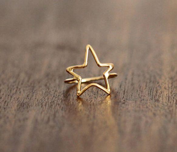 Gold & Silver Star Rings  by Porter Gulch
