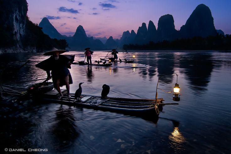Fishermen & Cormorants by Daniel Cheong on 500px