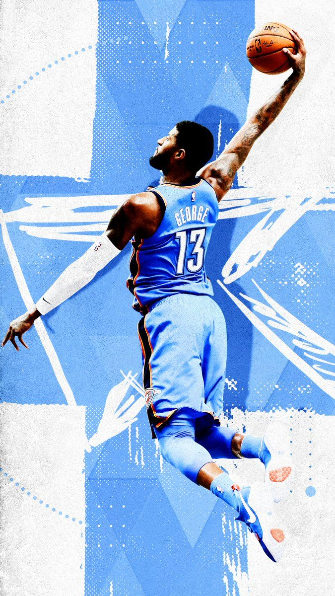 NBA Basketball - Paul George #GraphicDesign #Sports