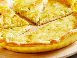 Recette : Quiche au fromage express