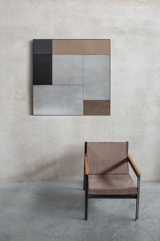 The Notre Monde M wall mirror from the Fall/Winter 2016 Tribal Quest collection.