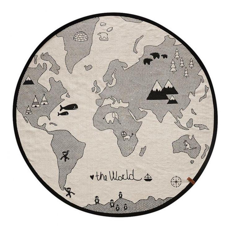 OYOY Teppich The World Rug