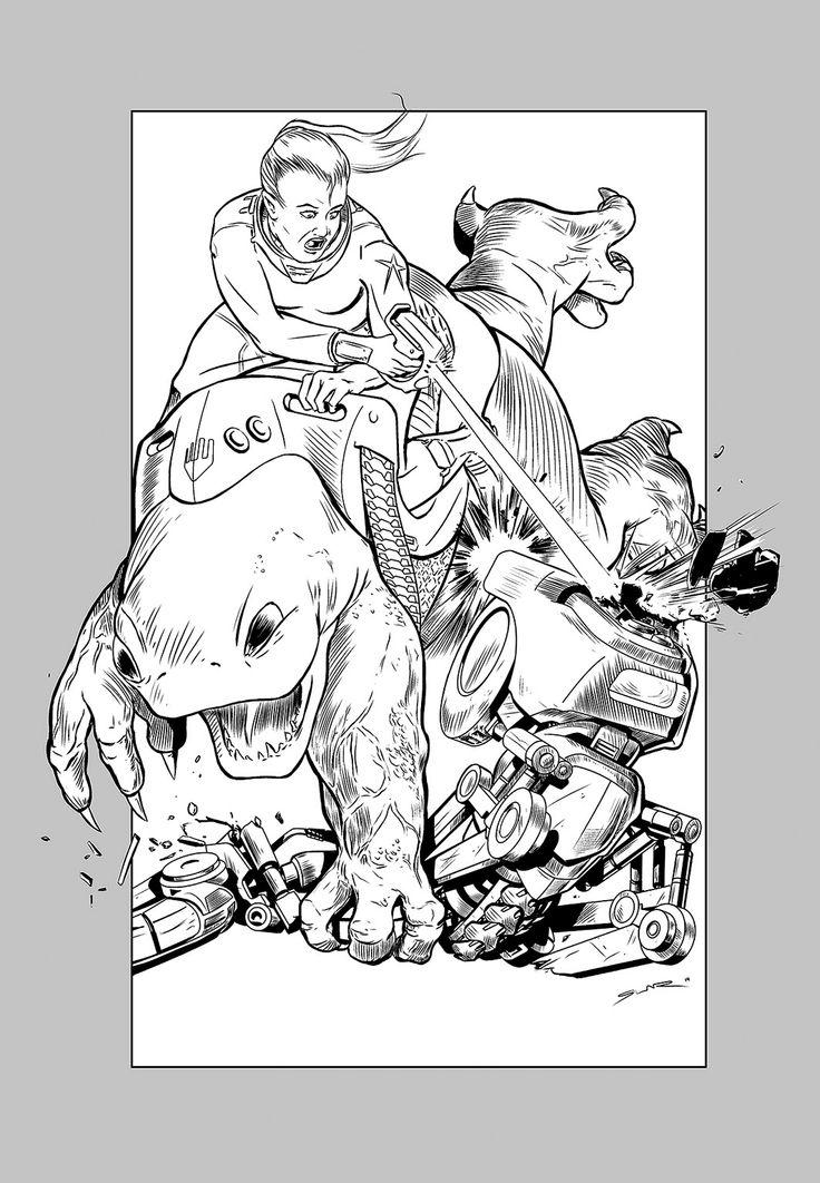 Starika & Go-Urk attack!