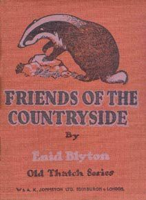 Friends of the Countryside by Enid Blyton.  Illustrated by my grandfather.  Both Grandad and Grandma loved the countryside and were great hikers so I would imagine he would have loved illustrating this.