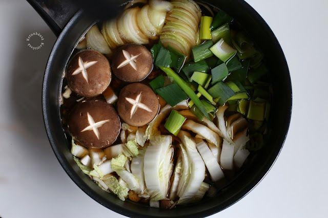 Ketunhäntä keittiössä: One-Pot Sukiyaki Noodles - Sukiyaki-nuudelit