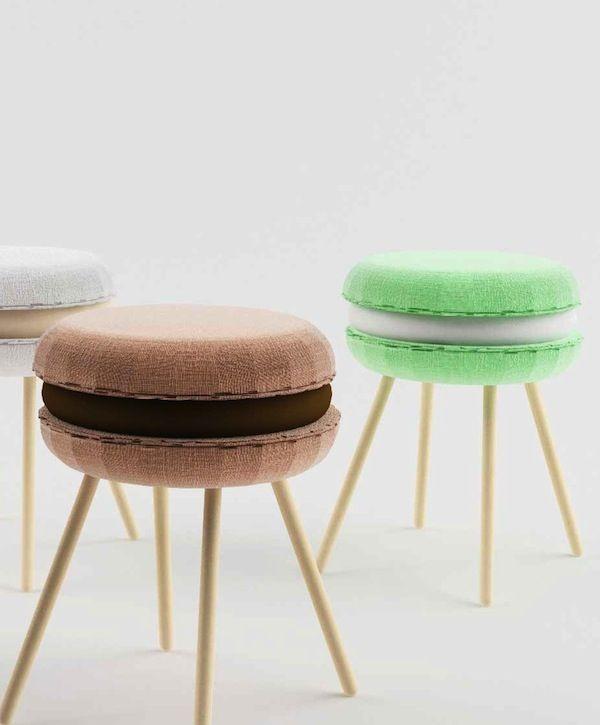 Macaroon-Shaped Seating from Italy's Li-Ving Design Studio