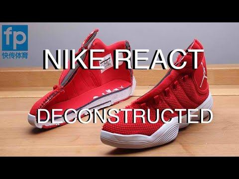 DECONSTRUCTED: NIKE REACT OR ADIDAS BOUNCE, BOOST? | Jordan Super.Fly 20...