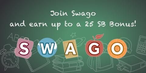 Earn Swagbucks with SWAGO and use your swagbucks to get free gift cards. So simple to use. Who doesn't love free gift cards?