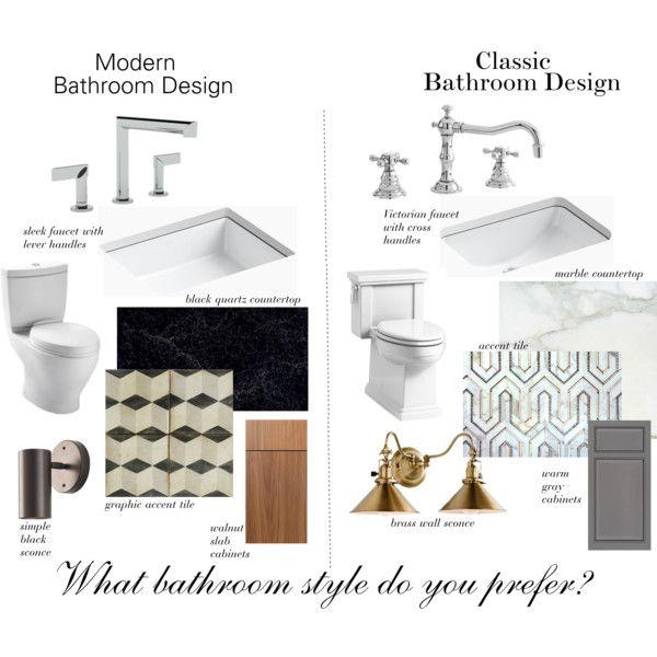 Modern vs. Classic Bathroom Design