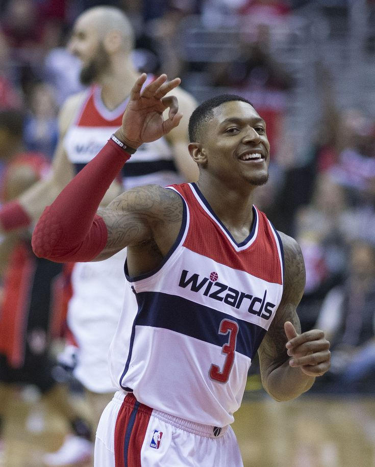 Washington #Wizards fifth-year player Bradley Beal hit a season-high seven three-pointers in Monday night's overtime win against the Sacramento Kings, 101-95. #NBA