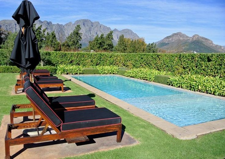 One of the most beautiful places to stay in Franschhoek @lacle_villas #capewinelands  . Visit our website to view more images or to find out more.