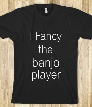 Banjo Player. WHAT IS WITH ALL THE DAMN BANJOS LATELY? CAN'T HEAR MYSELF THINK IN GUITAR LESSON FOR ALL THE FREAKIN' BANJOS!!!