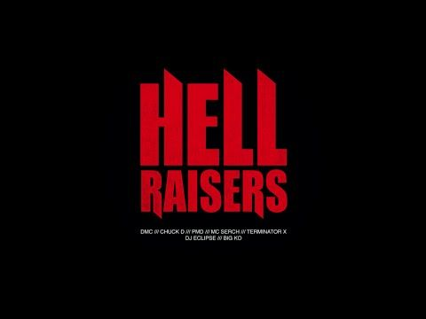 ''Hellraisers'' by DMC, Chuck D, PMD, MC Serch, Terminator X, DJ Eclipse... http://newvideohiphoprap.blogspot.ca/2015/01/dmc-ft-chuck-d-pmd-mc-serch-terminator.html