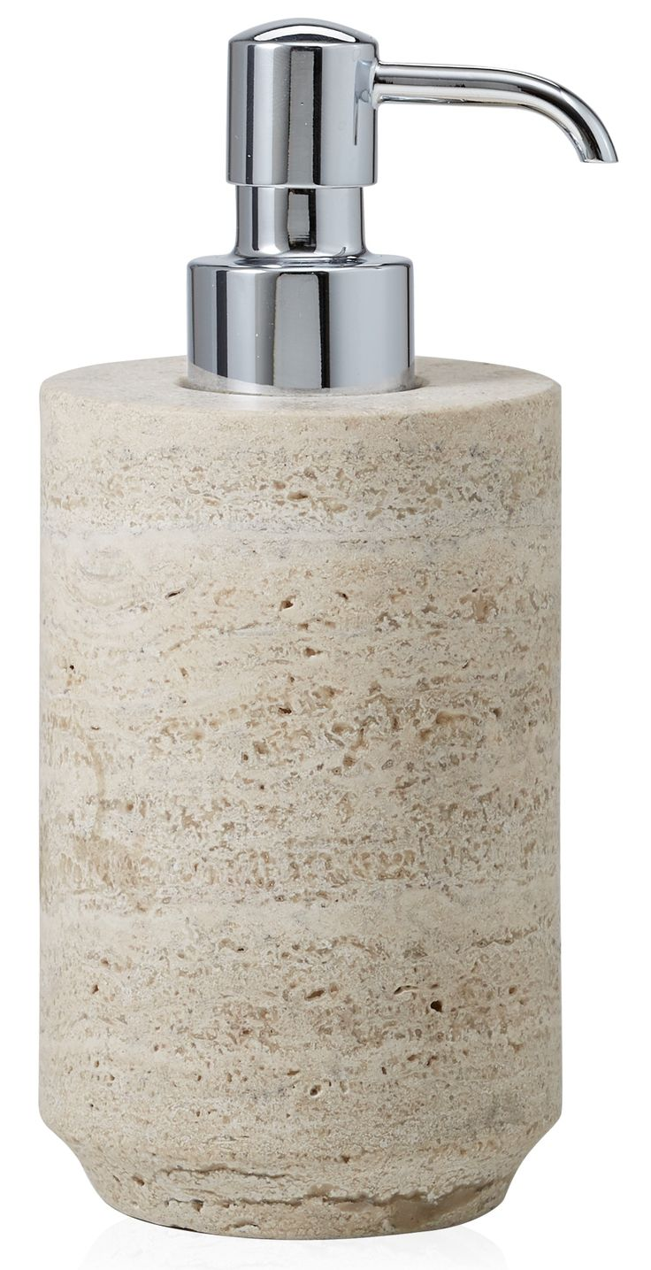 Buy Aztec Pump Dispenser by Labrazel - Quick Ship designer Bathroom Fittings & Accessories from Dering Hall's collection of Contemporary Organic Accessories.