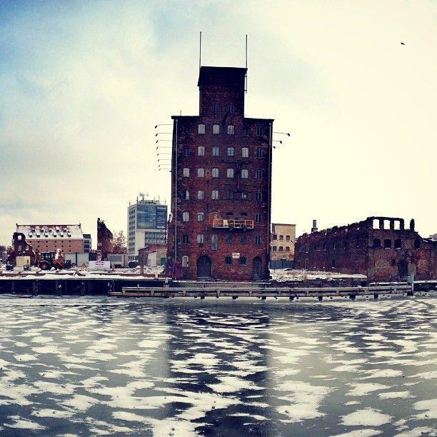 Wyspa Spichrzów, #Gdansk