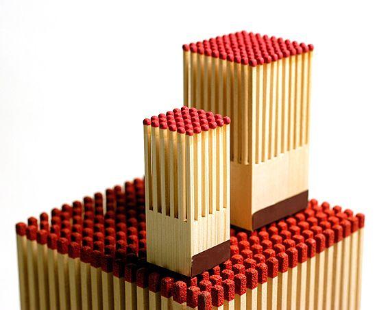 le bloc-allumettes - Design : Franck Fontana - Design Pyrénées